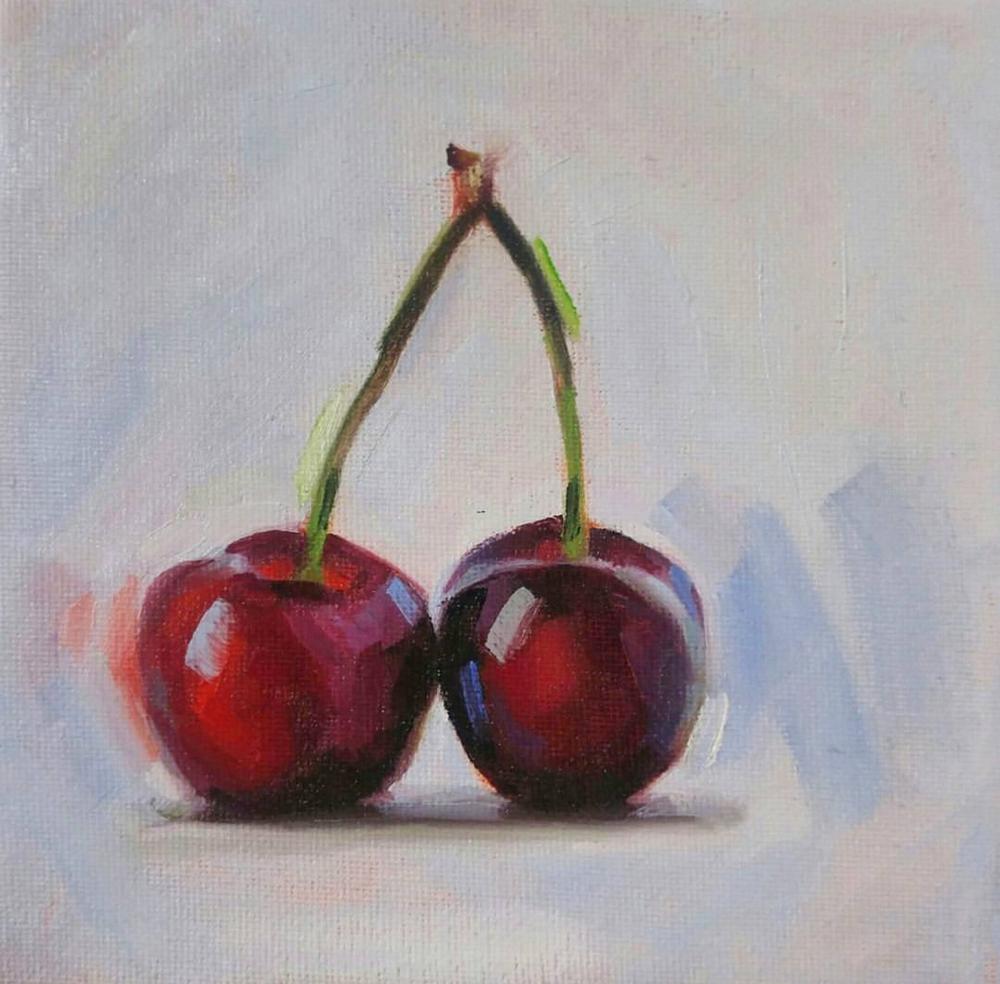 Cherries, 6x6
