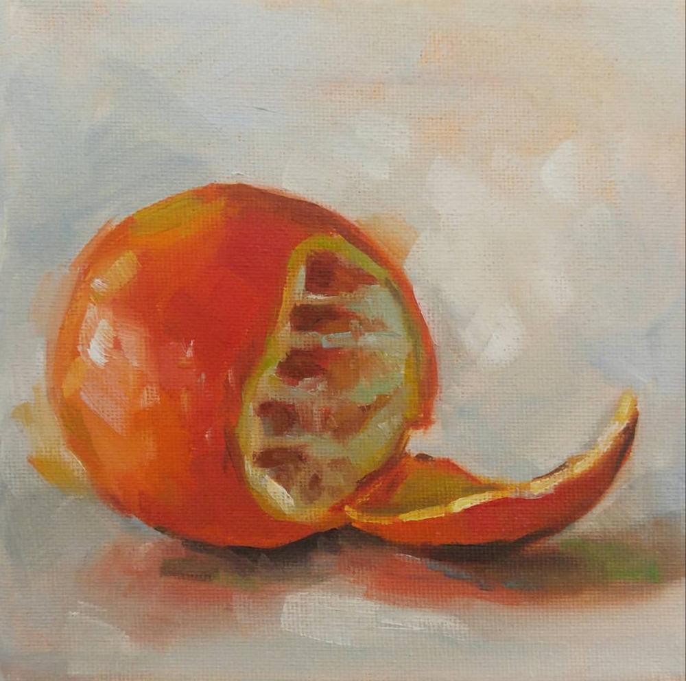 Orange, 6x6