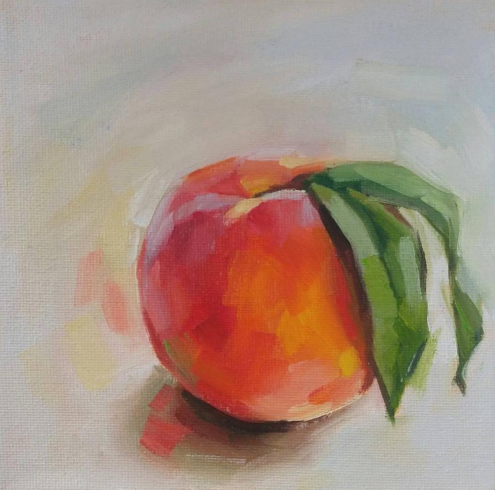 Peach, 6x6