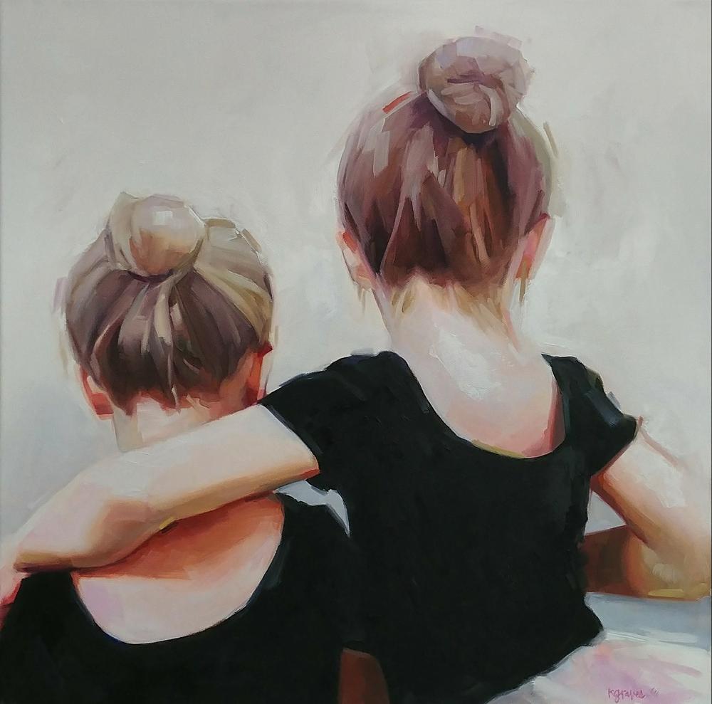 Ballerinas, 20x20