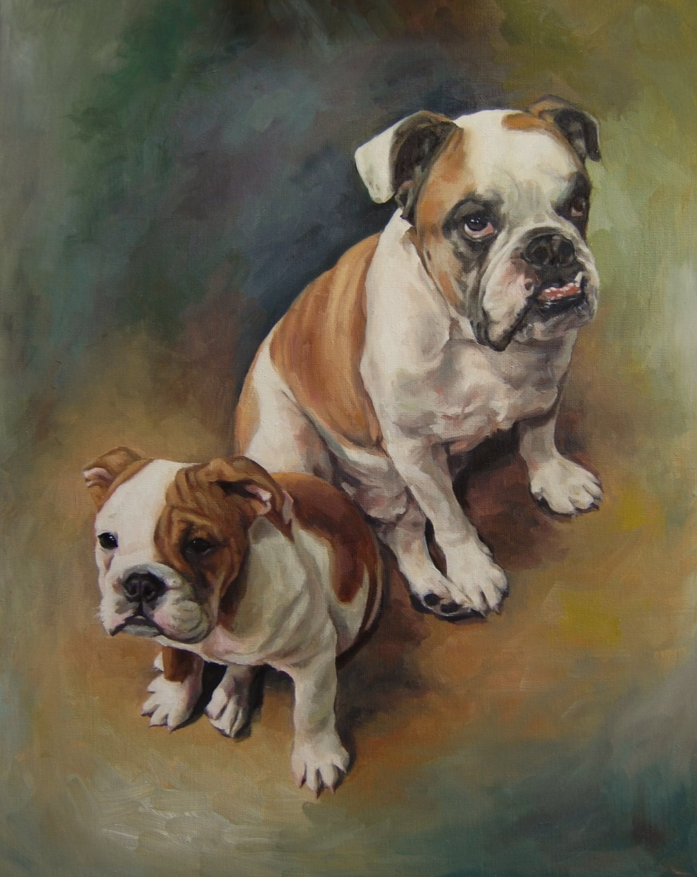 Harvey and Scout, 16x20