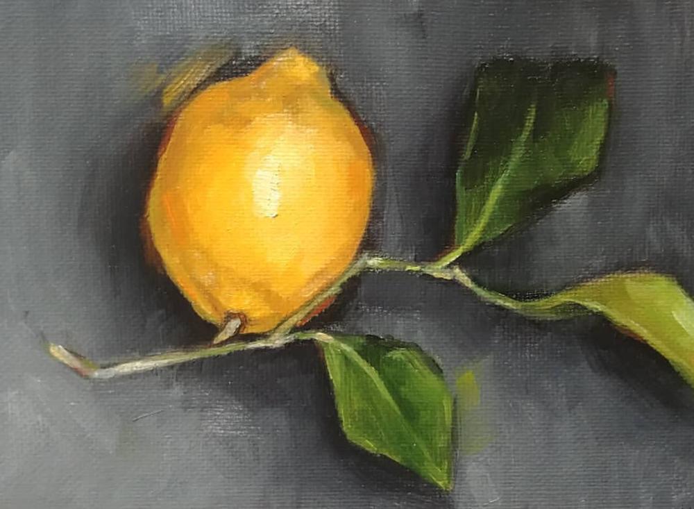 Lemon Leaf, 5x7