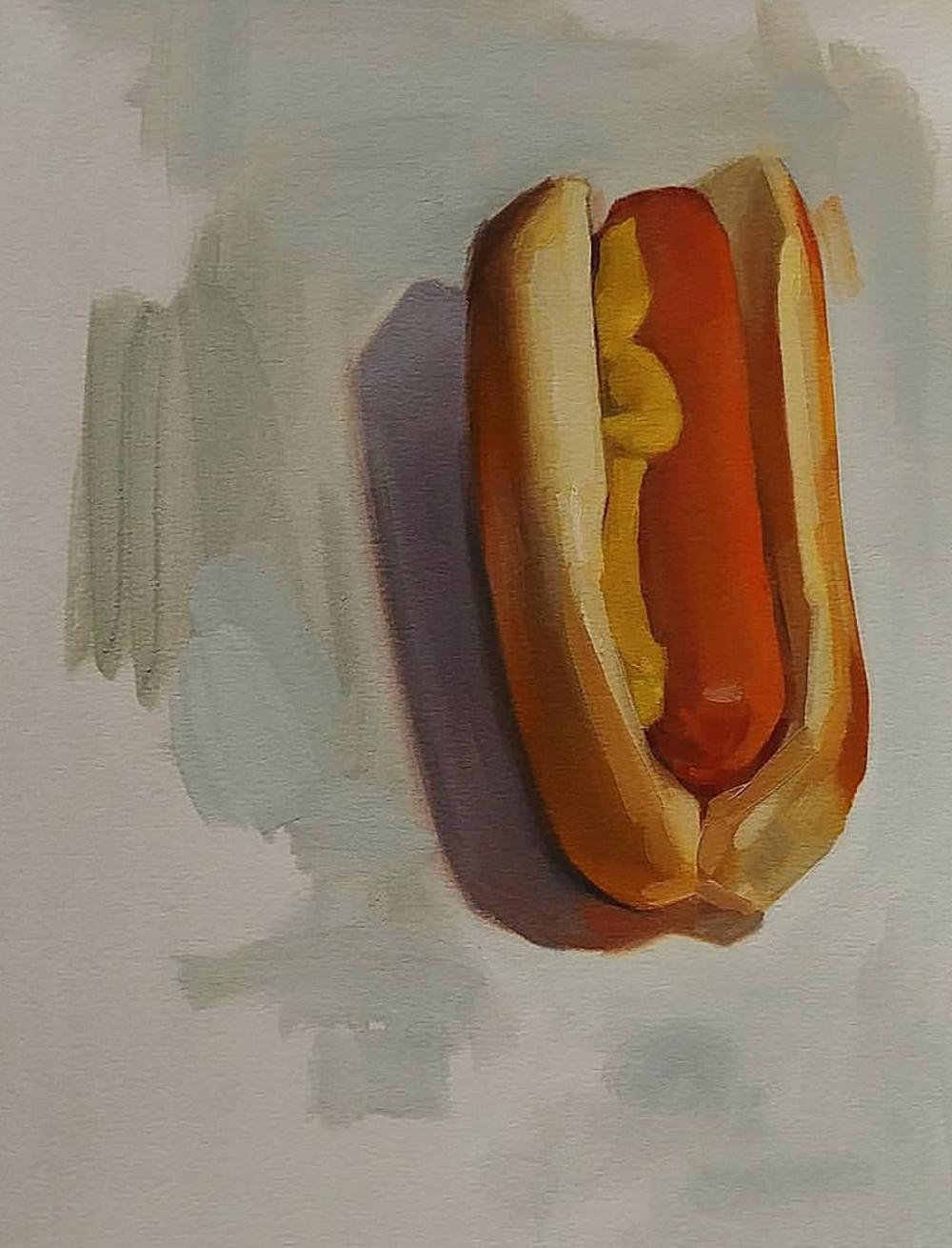 Hotdog, 11x14