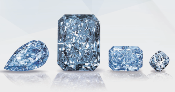 "The ""Cullinan Dream,"" which became the largest and most expensive fancy intense blue diamond ever sold at auction when it achieved $25.3 million Thursday June 9th, 2016."