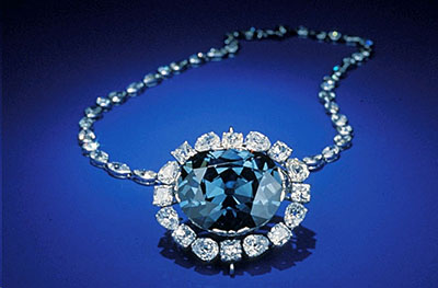 The Hope Diamond - 45.52 carats Natural Fancy Dark Grayish Blue Diamond