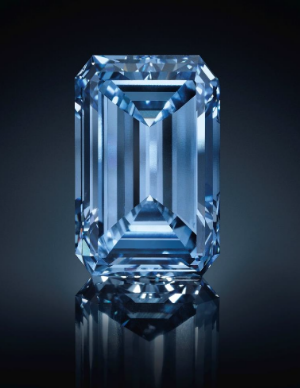 14.62-carat Fancy Vivid Blue diamond Oppenheimer Blue Diamond
