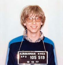 microsoft's bill gates in his disruptive youth