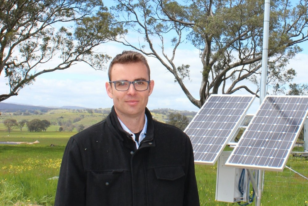 Grant Sutton, co-founder of AgCloud that is addressing NBN inequalities in rural Australia