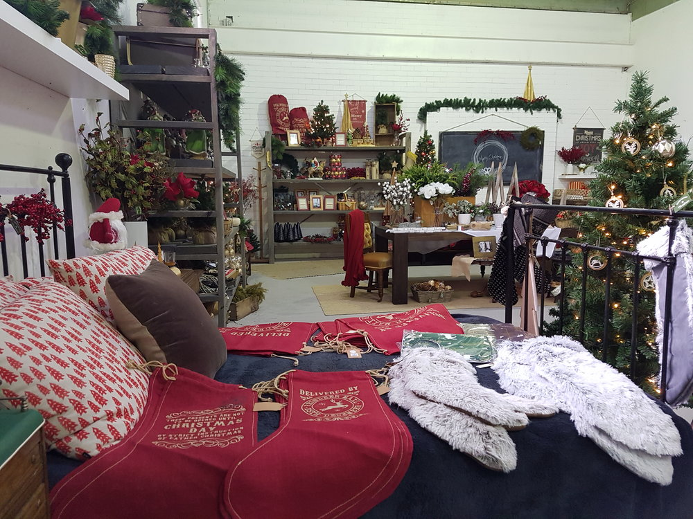 Cohuna's popular Factory & Field has introduced a Christmas section.