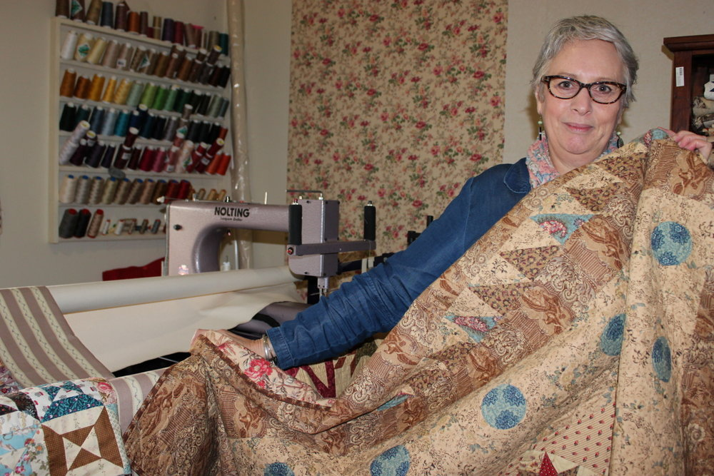 As a small rural business, Quilt Station has given Margaret Mew amazing opportunities.