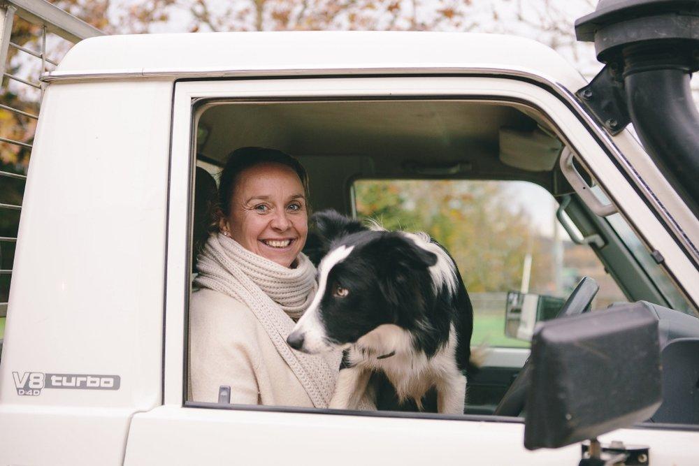 Mount Mitchell Kate & dog.jpg
