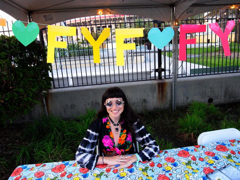 Allison Sees No Evil at FYF