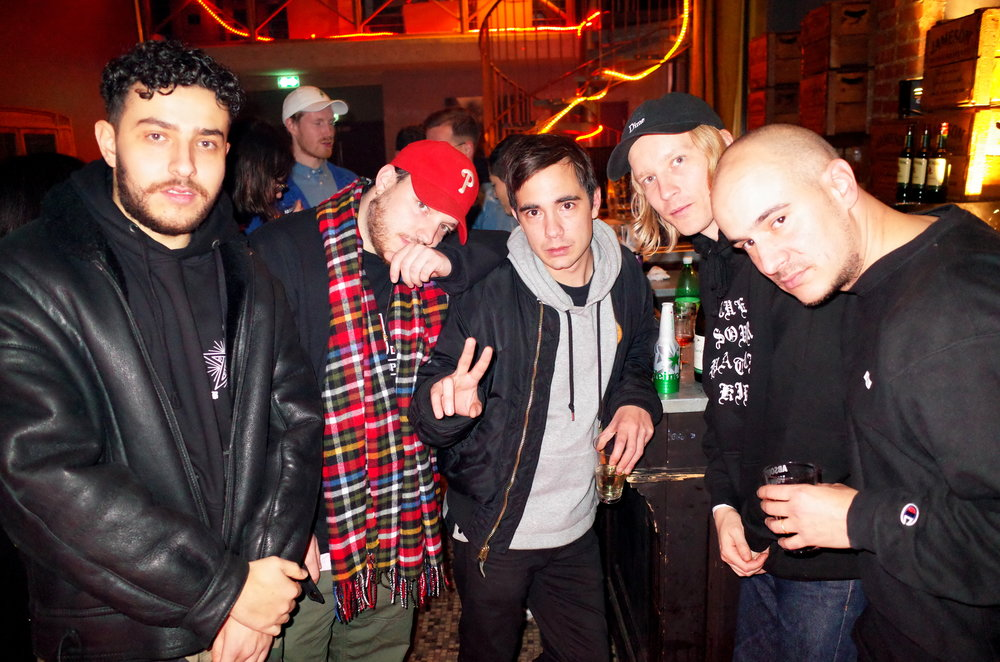 Ikaz Boi, Myth Syzer, Surkin/Gener8ion, Guillaume Berg, Philippe ARMES = REAL HOMIES