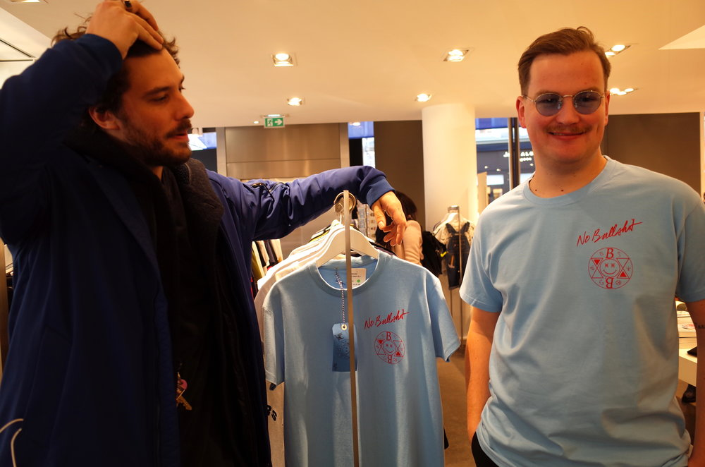 PS: also wandered into Colette for a second to see the new NO BULLSHIT shirts available now!