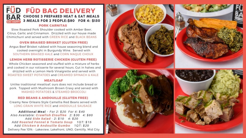 For ordering information call or email Jenna 504.309.3284 jenna@eathappynola.com