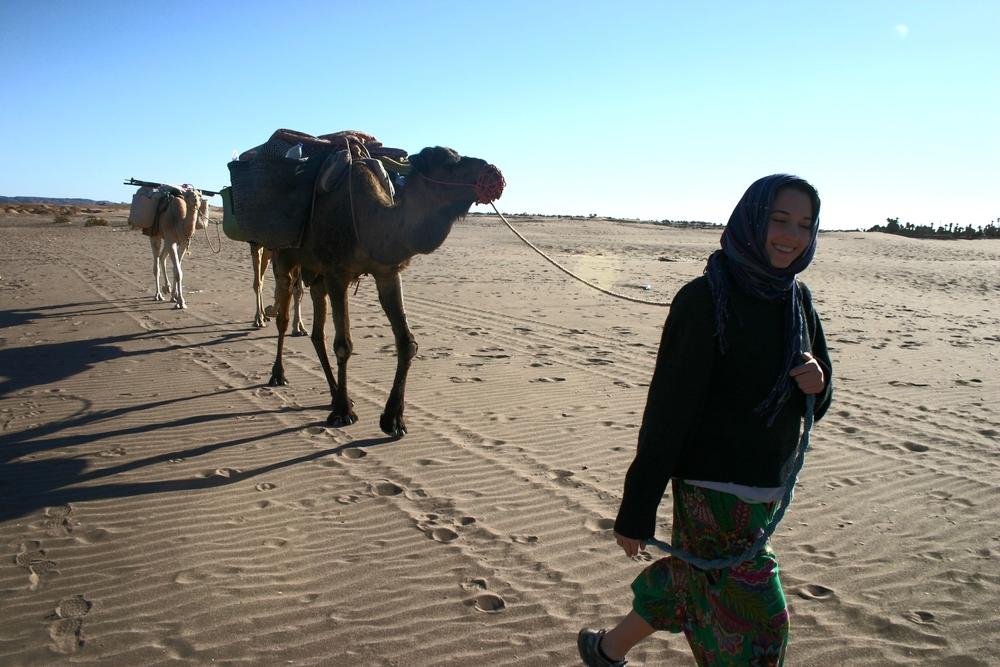 Trekking the Sahara Desert, Morocco