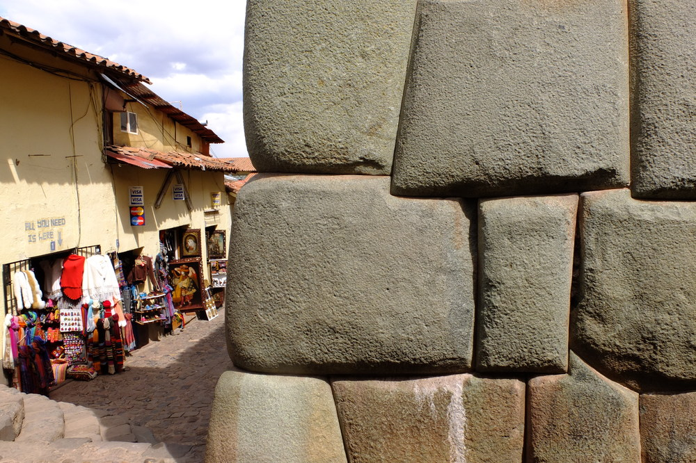 Wall built by the Incas, Cusco