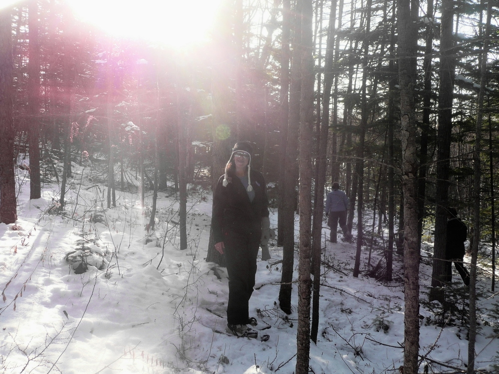 Snowshoeing, Yuzhno