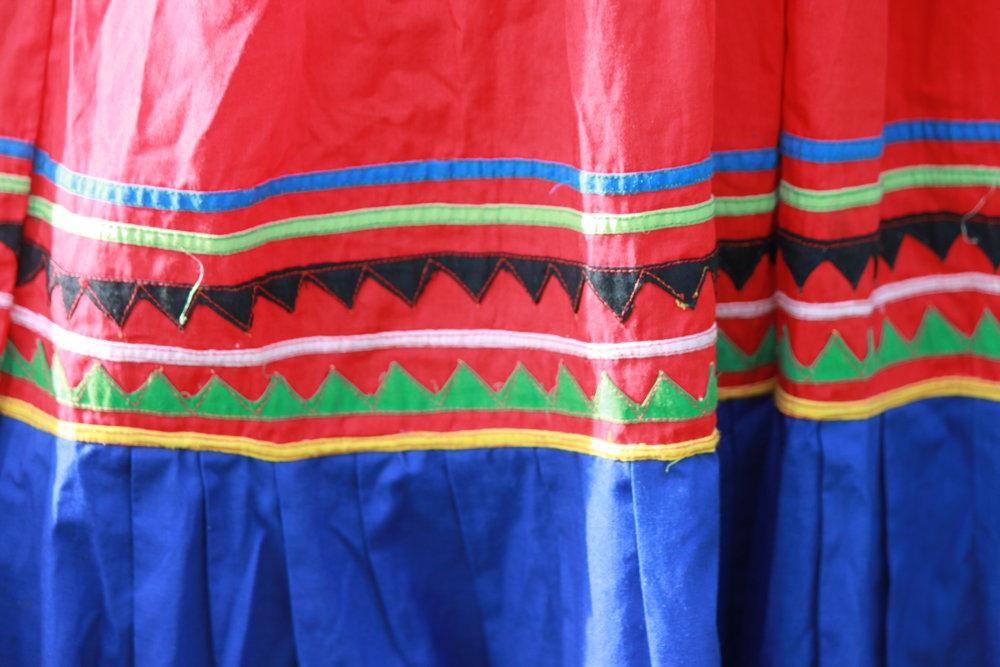 Traditional Panamanian Dress