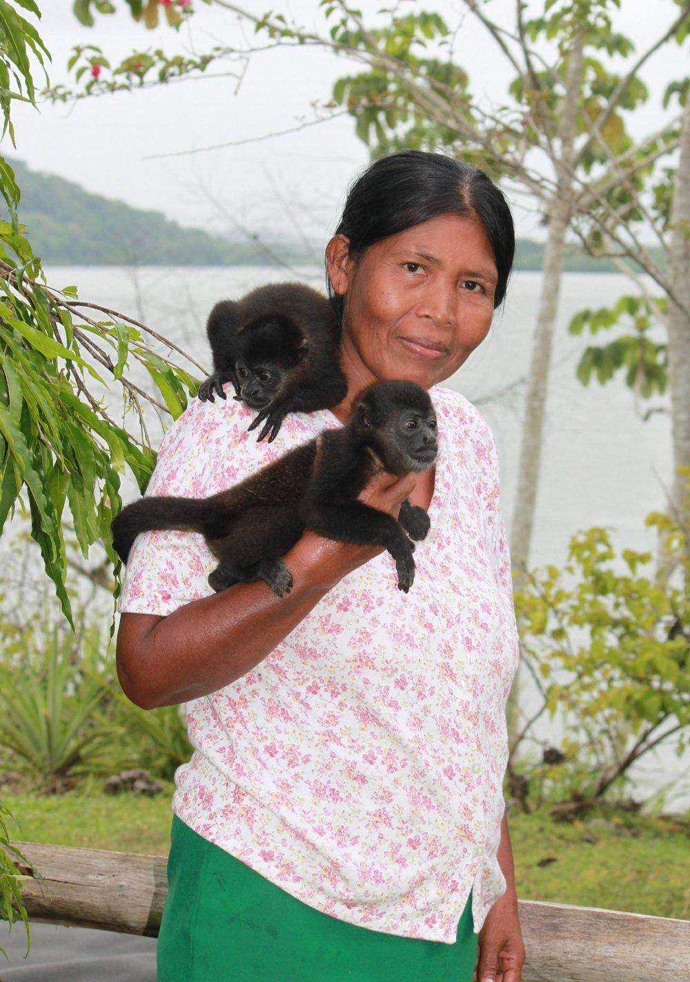 Panamanian Woman, Ophelia