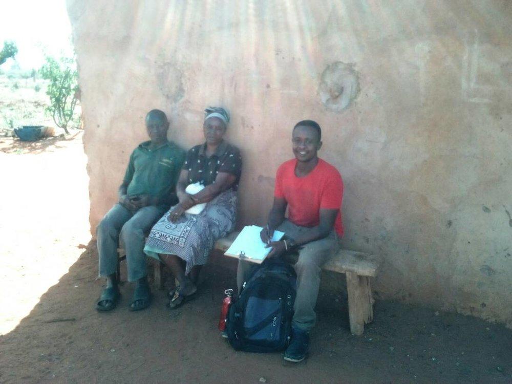 Edwin and Sagalla Community Members