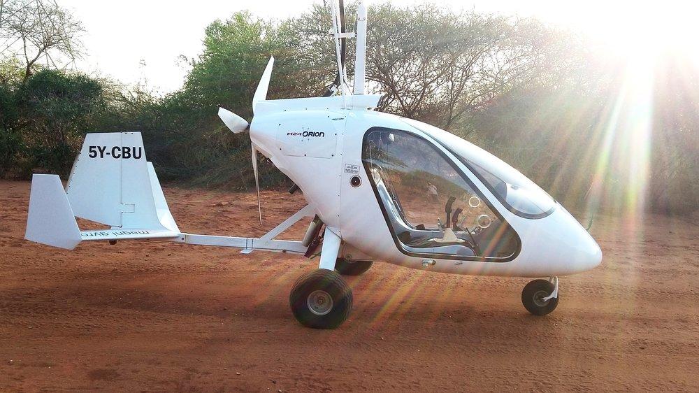 Gyrocopter - Wildlife Works