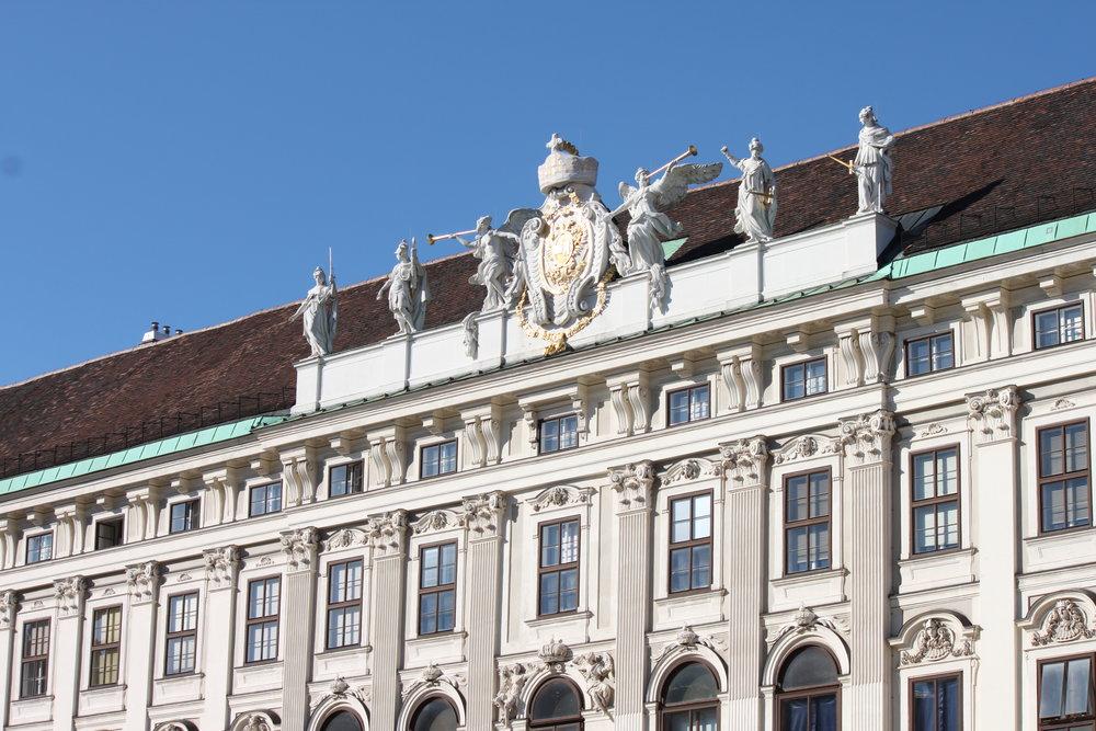 Hofburg Heldenplatz