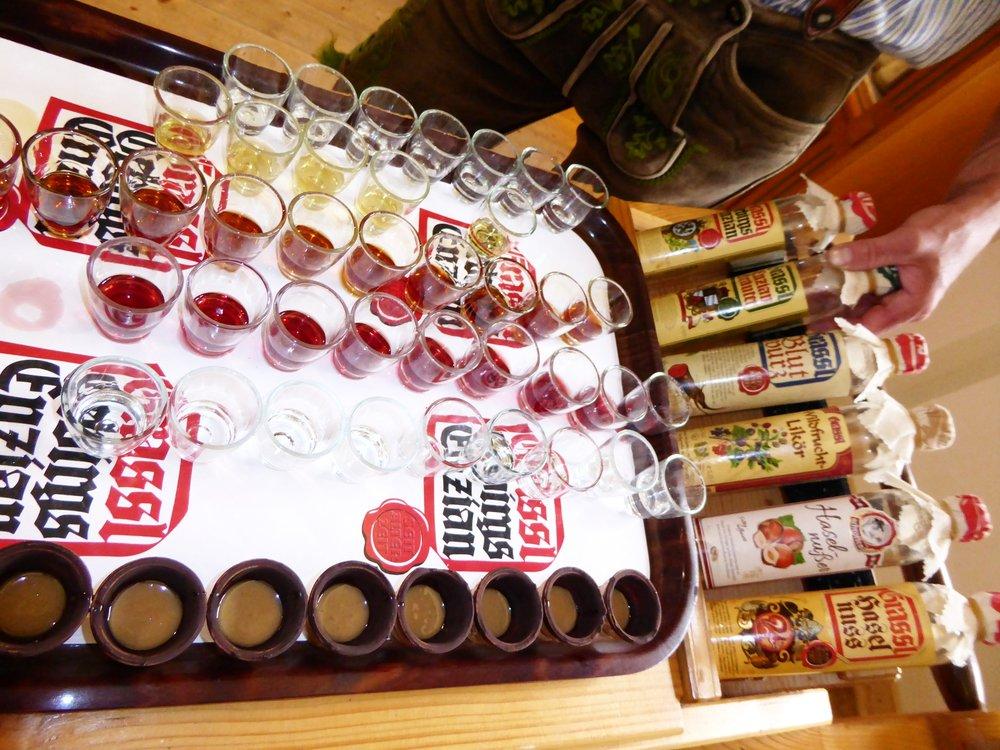Grassl's Gentian Schnapps Distillery