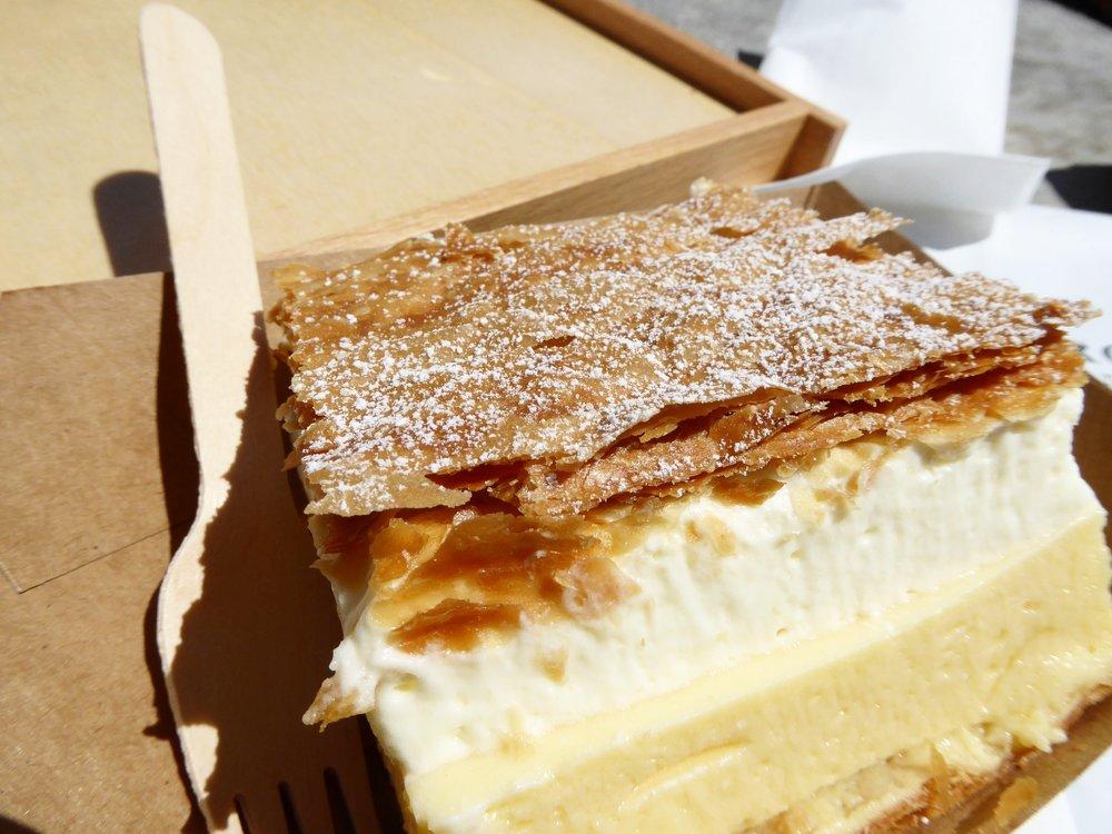 Slovenian Cream Cake
