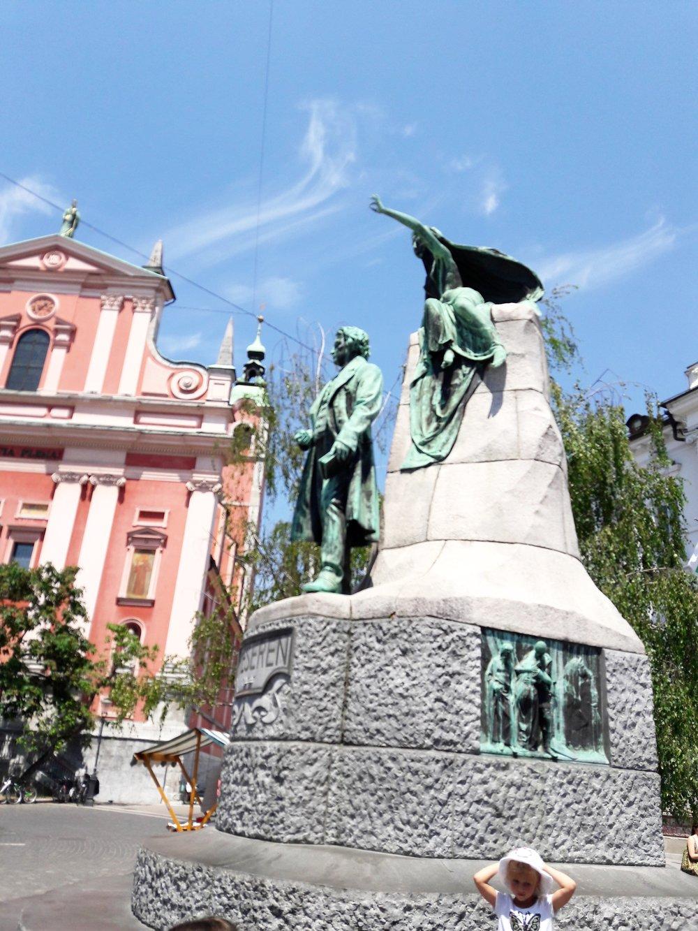The Prešeren Monument