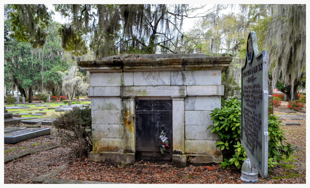 Crypt of William Rufus King, Live Oak Cemetery, Selma, Alabama