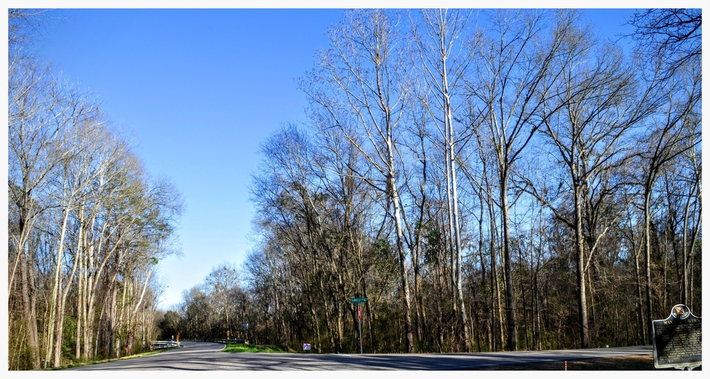 Intersection of Cloverfield Road and Federal Road, Hope Hull, Montgomery County, Alabama
