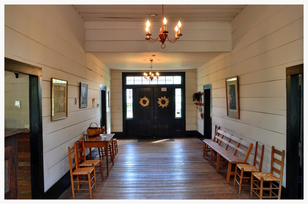 Central hallway of Lucas Tavern, Old Alabama Town, Montgomery, Alabama