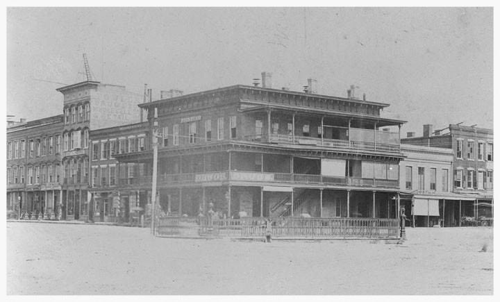 The Winter Building in 1890, Montgomery, Montgomery County, Alabama (photo courtesy of the Alabama Department of Archives & History)