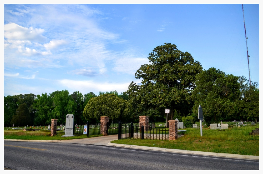 Front of Lincoln Cemetery, Montgomery, Montgomery County, Alabama