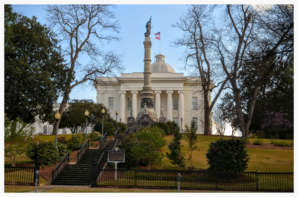 North side of Capitol Hill, Montgomery, Montgomery County, Alabama