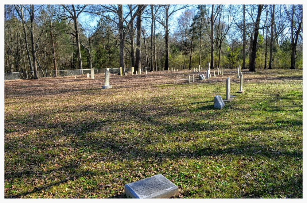 Bethel Cemetery interior, Pintlala, Montgomery County, Alabama