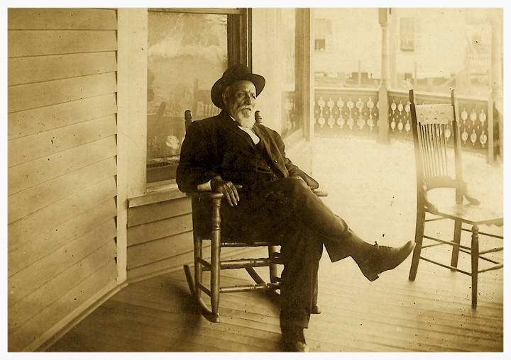 "Justus McDuffie ""Mack"" Barnes in 1912 (photo courtesy of Alabama Department of Archives & History)"