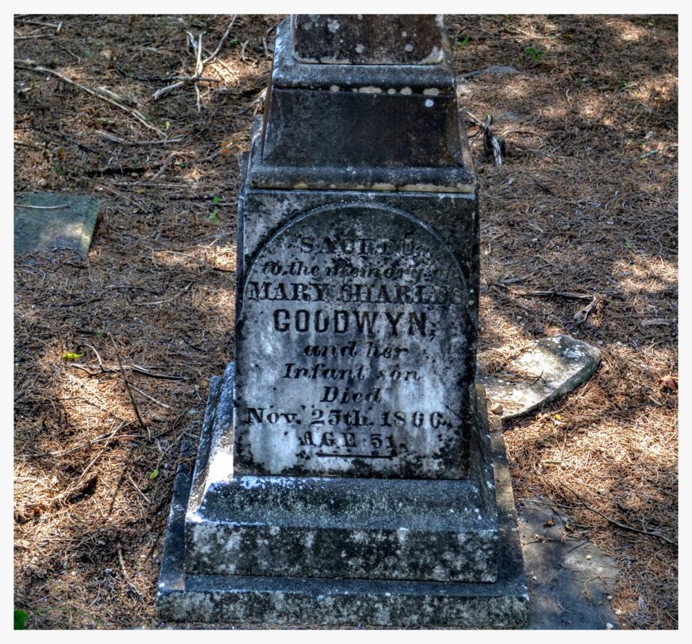 Gravestone 1,Old Augusta Cemetery, Montgomery, Montgomery County, Alabama