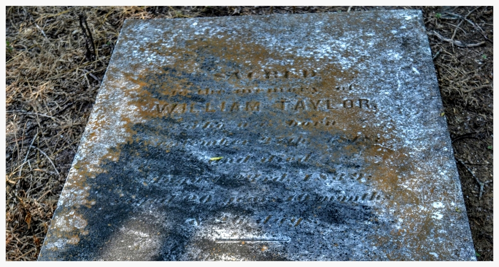Gravestone 3,Old Augusta Cemetery, Montgomery, Montgomery County, Alabama