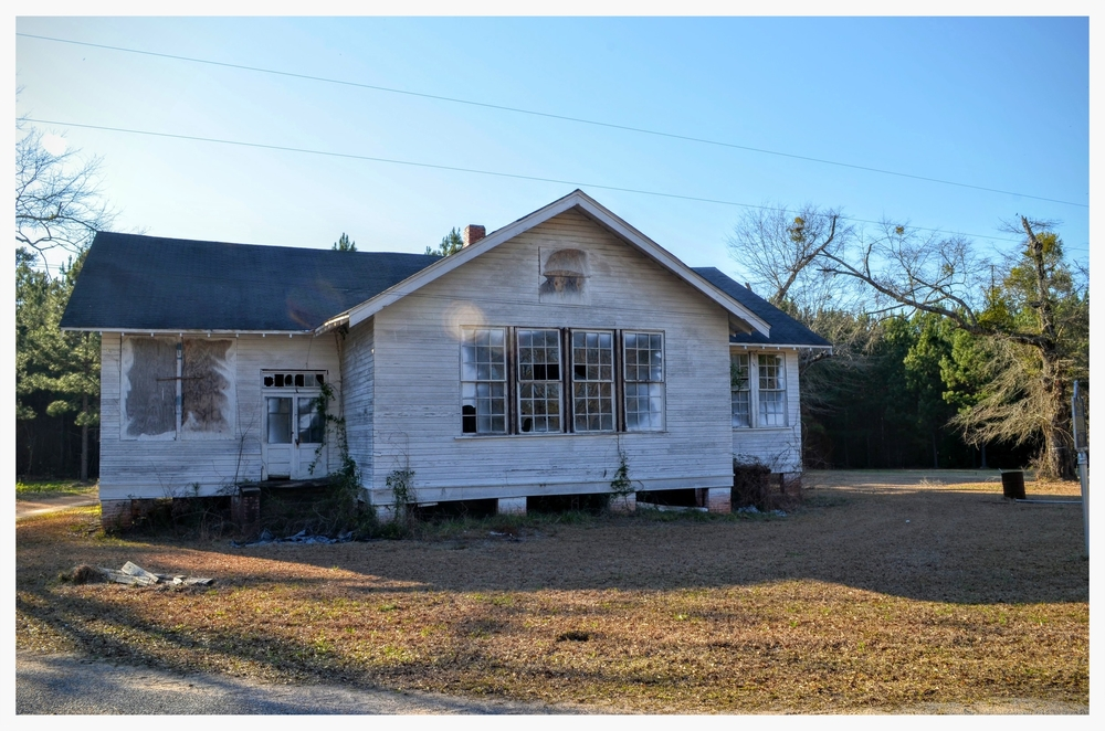 Tankersley Rosenwald School, Hope Hull, Montgomery County, Alabama
