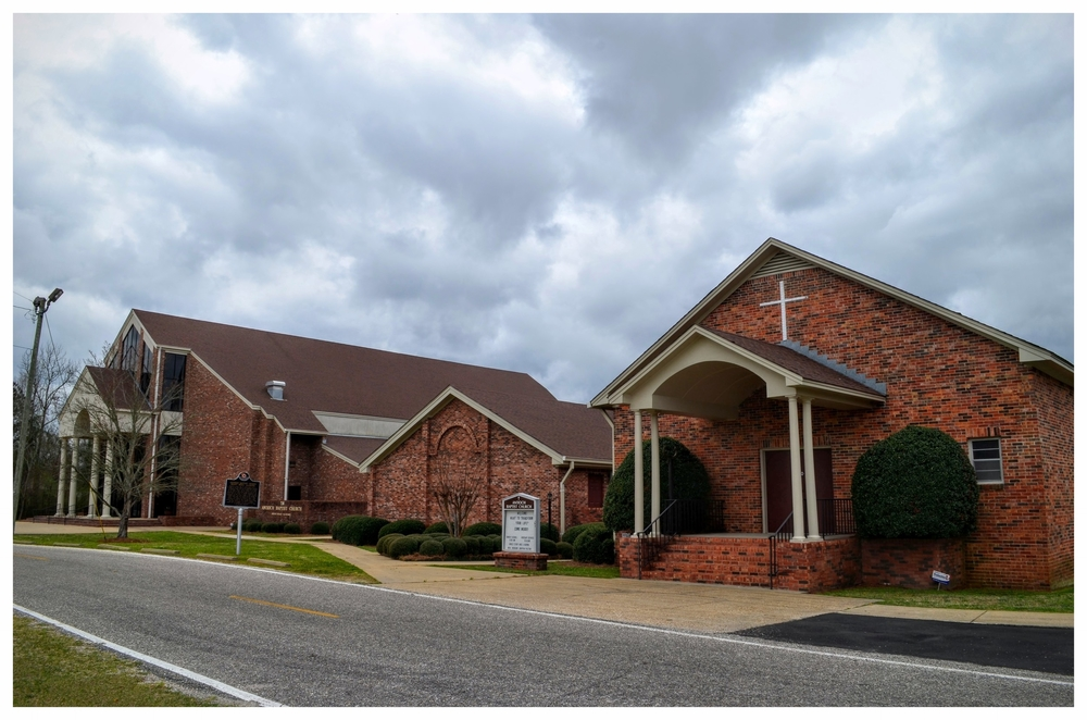 Antioch Baptist Church, Mount Meigs, Montgomery County, Alabama