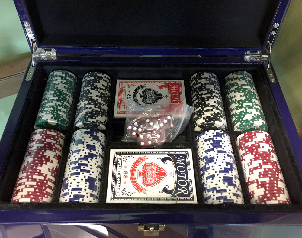 Our shop is more than just flowers! Stop in to find the perfect gift for that special guy in time for Father's Day.  We carry a selection of poker seys, playing card sets, cigar holders and humidors.