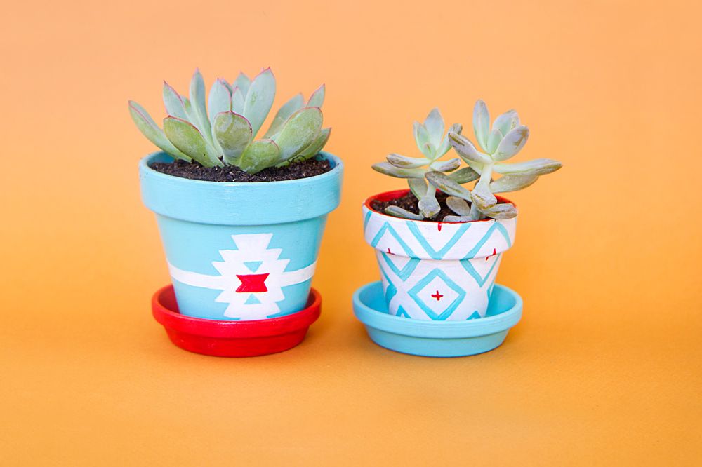Little navajo style for your succulents!