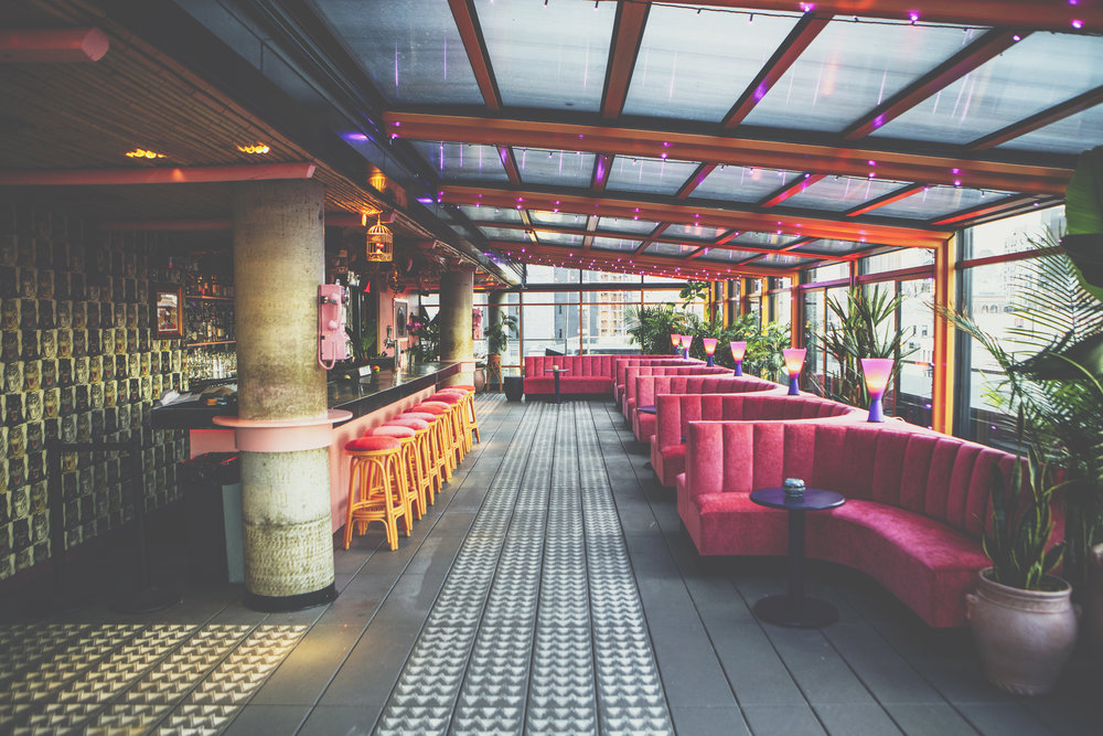 Make Believe is a new rooftop social club designed to transport you, day and night.