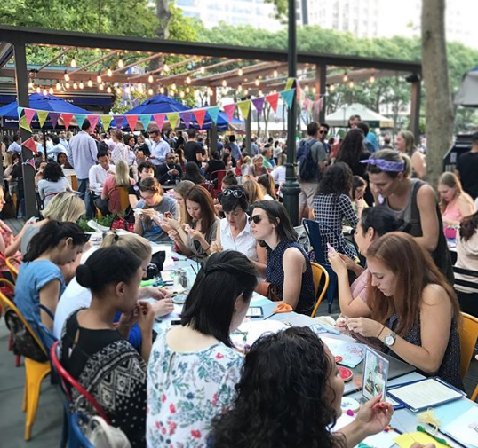 Crafts & Cocktails in Bryant Park