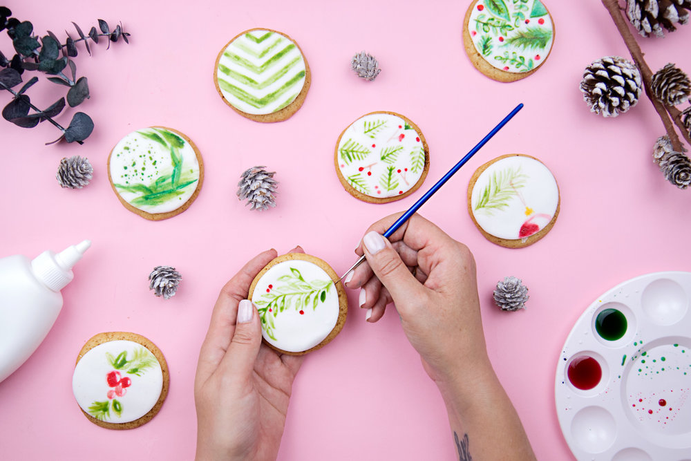 Watercolor Cookie Decorating Workshop