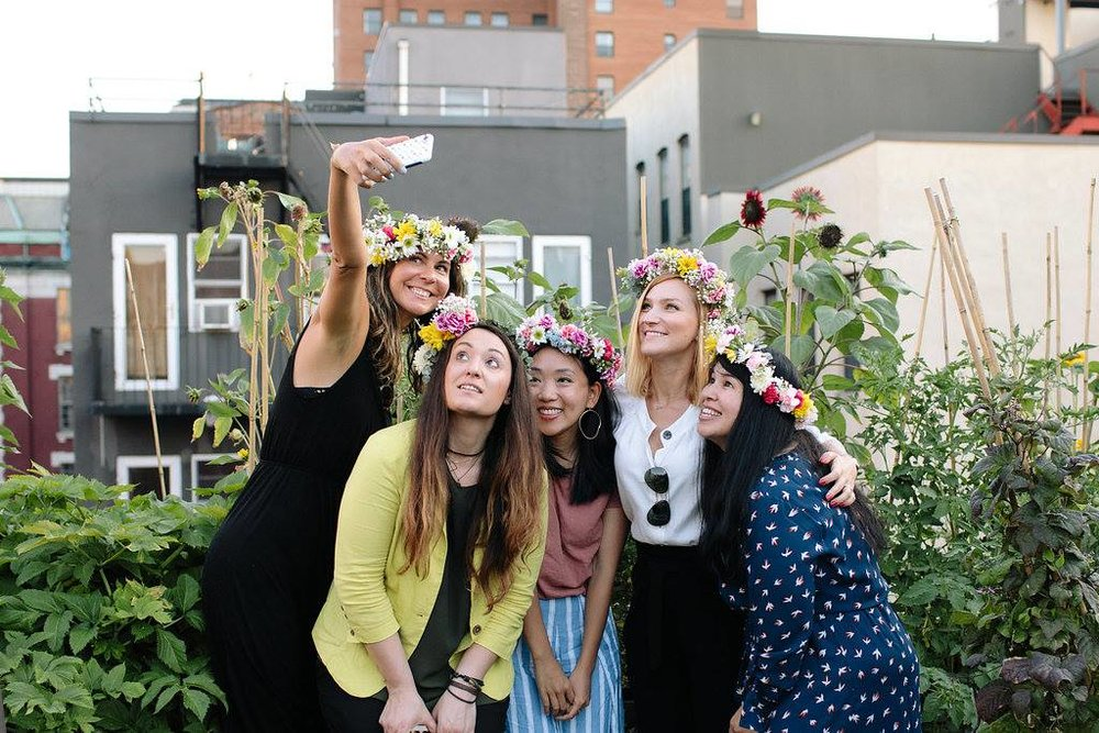 Flower Crowns at GROW