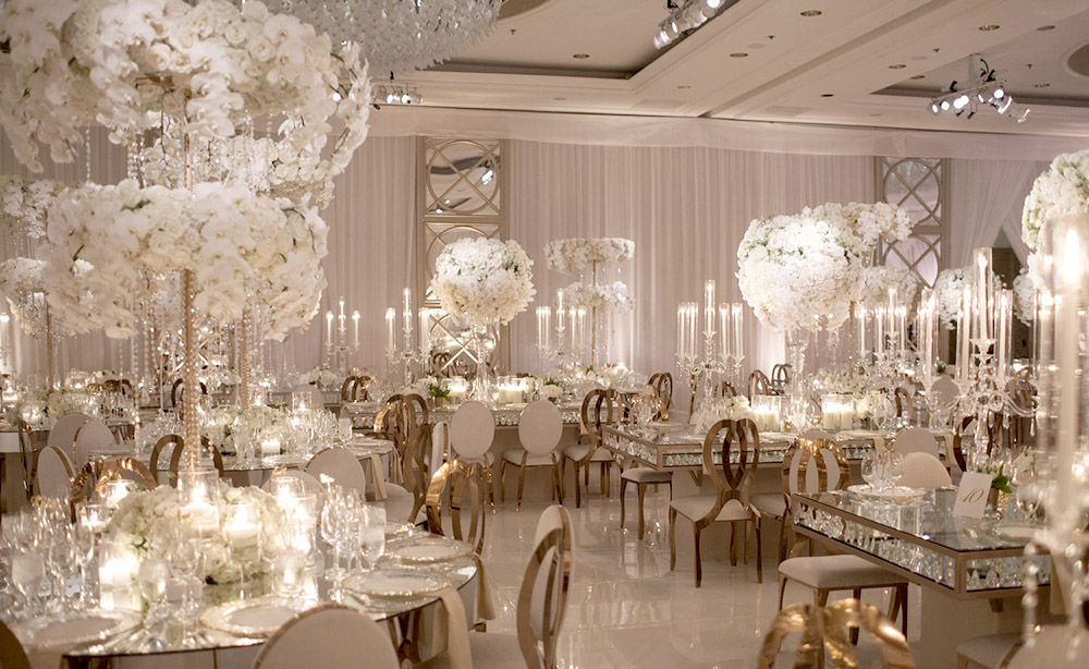 Four Seasons Wedding Reception -Final Event