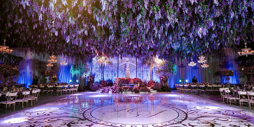 Wisteria Garden Real Wedding Design by Eddie Zaratsian